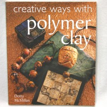 The cover-Creative Ways with polymer clay