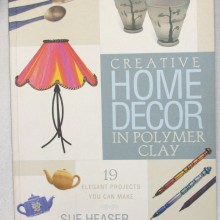 Front cover-Home decor in Polymer Clay