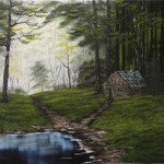 Hidden Retreat Oil Painting