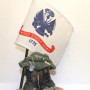 tri colored military boots army flag
