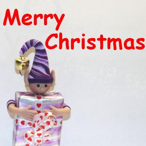 merry christmas elf