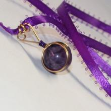 purple amethyst pendant