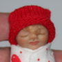 Valentine baby doll face